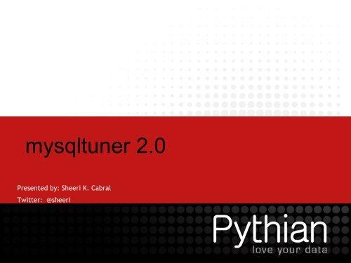 mysqltuner 2.0