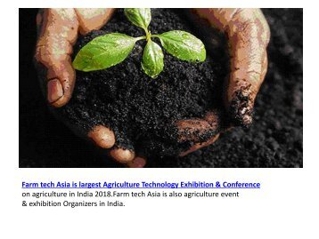 Farm Tech Asia - Agriculture Conference and Exhibitions