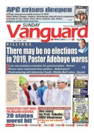 06052018 - KILLINGS: There may be no elections in 2019, Pastor Adeboye warns