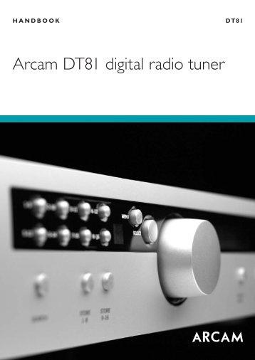 Arcam DT81 digital radio tuner