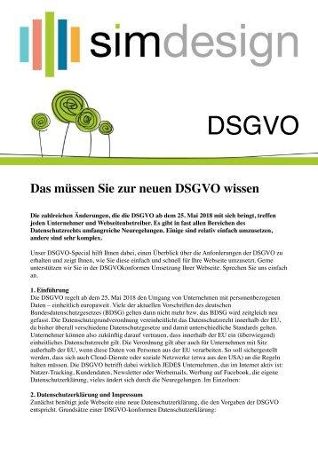 DSGVO-SIMdesign
