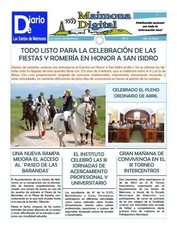 Diario Local de Mayo