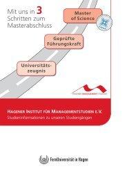 Beruflicher Erfolg durch gesamtheitliches Managementwissen - HIMS