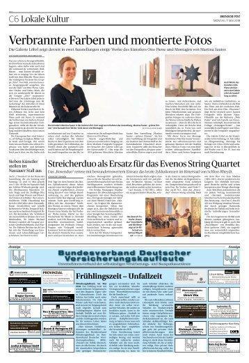 Bundesverband Deutscher Versicherungskaufleute  -07.05.2018-
