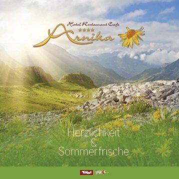 Hotel Arnika - Sommerprospekt