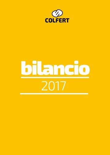 bilancio 2017 COLFERT