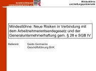 Mindestlöhne - Bundesverband Korrosionsschutz e.V.