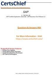 C_TB1200_92 Real PDF Exam Material 2018