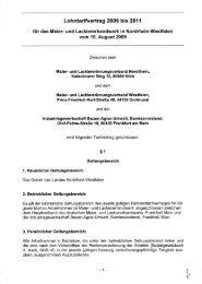 Lohntarifvertrag 2009 bis 2011 - Bundesverband Korrosionsschutz ...