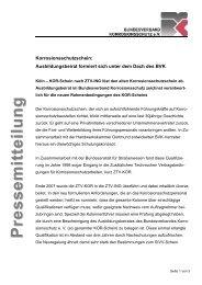 PP rr ee ss ss ee mm ii tt tt ee ii ll uu nn gg - Bundesverband ...