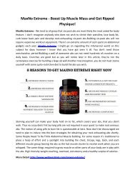 MaxNo Extreme - Improve Immune system Protect your Body From Many Diseases!