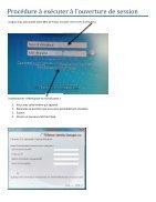 Reset mot de passe - Page 4