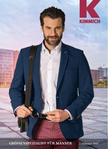 Kimmich Mode-Versand | Größenspezialist für Männermode | Sommer 2018