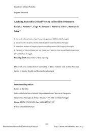 Applying Anaerobic Critical Velocity in Non-Elite ... - Muscleaustralia
