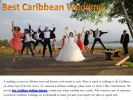 Best Caribbean Wedding