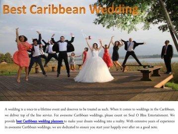 Best Caribbean Wedding