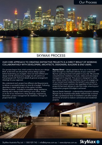 Skymax-Our-Process
