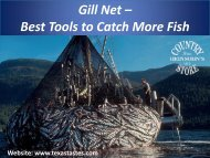 Gill Net – Best Tools to Catch More Fish