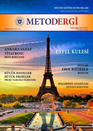 Metod Dergi - Nisan 2018