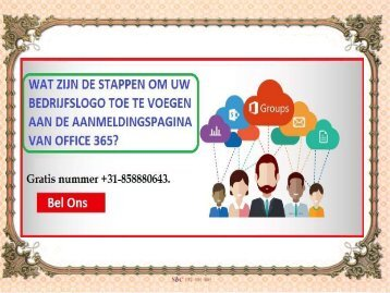 Wat zijn de stappen om uw bedrijfslogo toe te voegen aan de aanmeldingspagina van Office 365