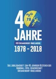 1978 - 2018   40 Jahre HSG Gremmendorf-Angelmodde