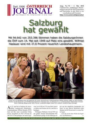 Österreich Journal Ausgabe 174
