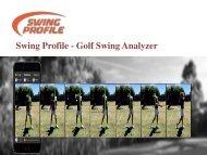 Learn Golf in Golf Swing Analyzer- Easy Swing