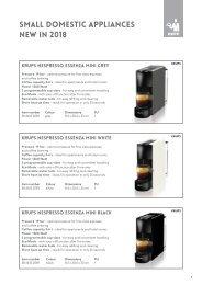 Cátalogo Hepp-SEB pequños electrodomésticos