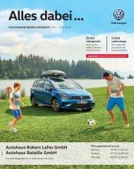 VW Der Prospekt 05.06.2018 Bataille / Lafos