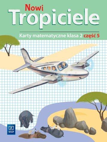 Nowi Tropiceiele Karty matematyczne klasa 2 część 5