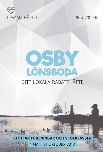 Diamanthäftet Osby/Lönsboda 2018