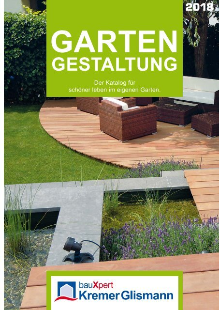Gartenkatalog 2018 - Kremer Glismann