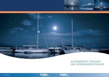 scheinwerfer, strahler und unterwasserstrahler - BUKH Bremen