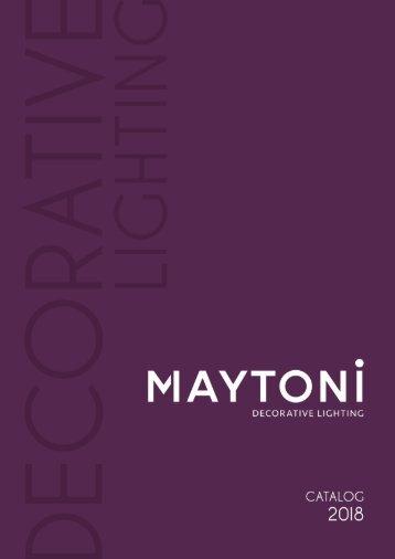 Blätter-Katalog Maytoni 2018