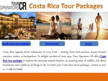 Costa Rica Tour Packages