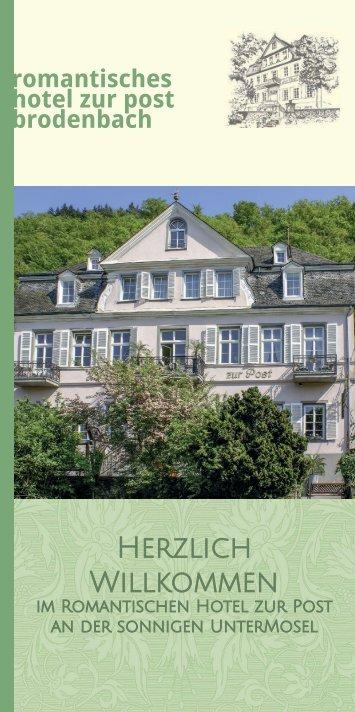 Romantisches Hotel zur Post - Hotelprospekt