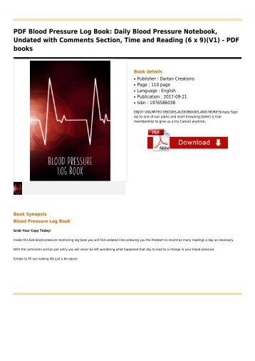 ebook diabetic glucose log portable 6in x 9in diabetes blood sugar