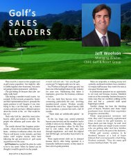 Golf Inc. - Most Influential People In Golf Sales PP 2018