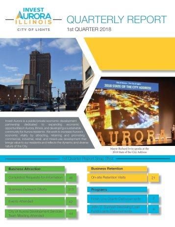 1st Quarterly Report, 2018