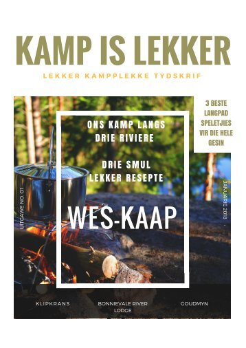 Kamp-is-Lekker Jan 2018