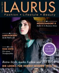 Winter 2012/13 - LAURUS Magazin