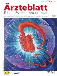 Ärzteblatt Baden-Württemberg 01-2012 [PDF] - Landesärztekammer ...