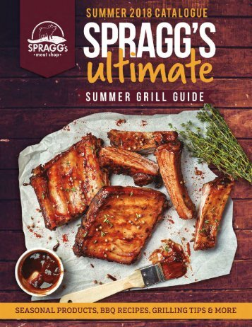 Spragg's Summer Grill Guide - Summer 2018