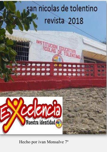 Revista san nicolas de Tolentino 2018