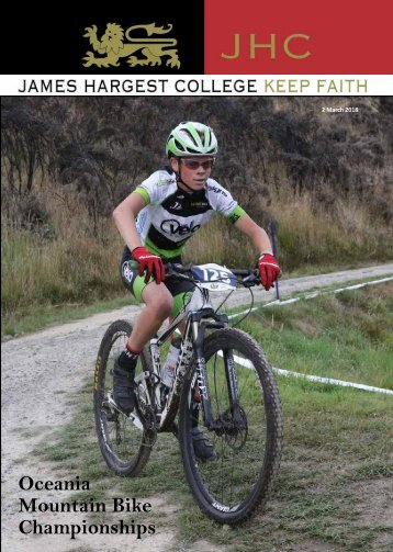 March 2018 - James Hargest College