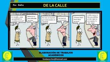 DE LA CALLE