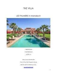 Les Palmiers - Marrakech