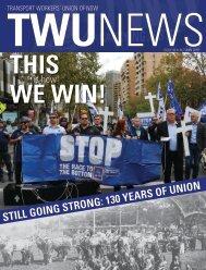 TWU News Autumn 2018