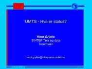 nett RNC Transport- nett | PSTN & IP - UMTS.no