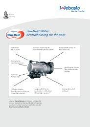 BlueHeat Water Zentralheizung für Ihr Boot - BUKH Bremen